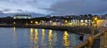 evening port view