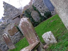 the old grave yard