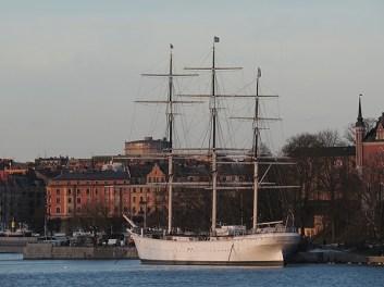back in stockholm