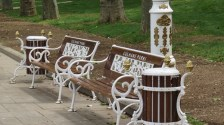 beautiful benches