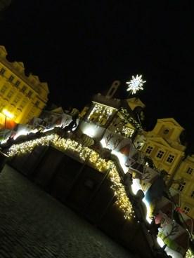 christmas market steps