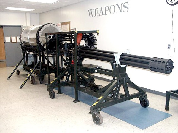 A10 30mm gatling gun