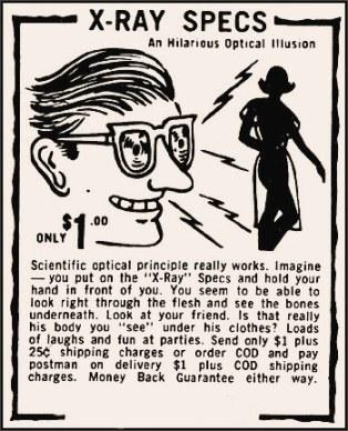 TSA Porta Porn Scan 3000 Eyeglasses