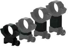 Win These BSA Optics Adjustable Steel Scope Rings