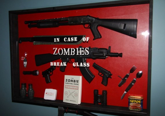 In case of Zombies, break glass