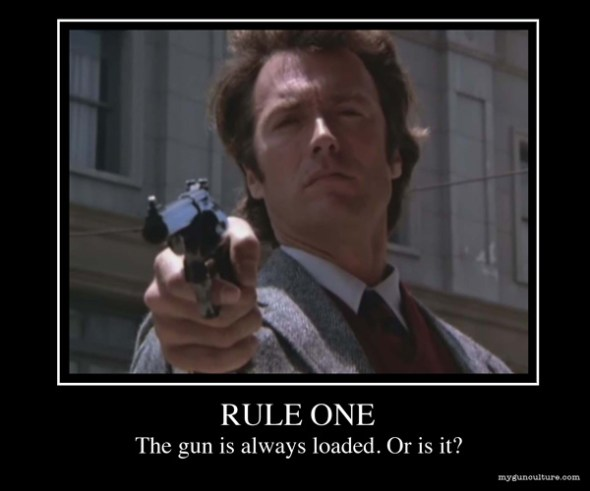 Rule 1: A Gun Is Always Loaded