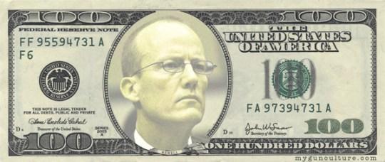 ATF Agent William Newell $100 bill
