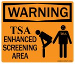 New TSA Screening Procedure