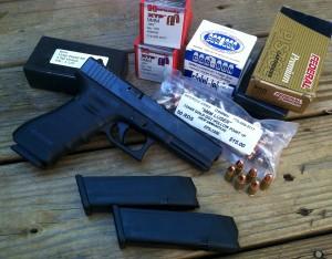 The Glock 17 Gen IV