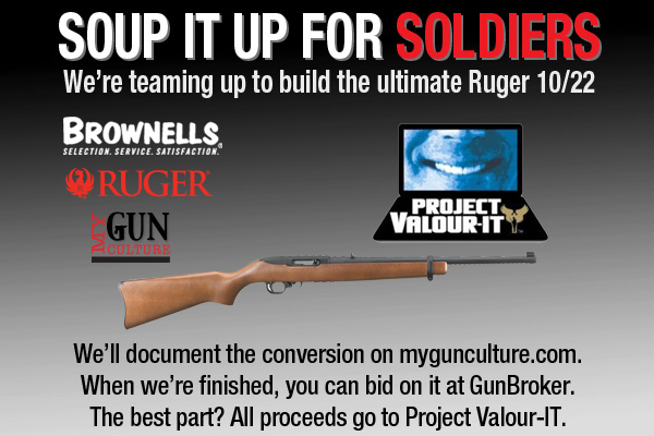Custom Ruger 10/22 - Soup it up for Soldiers - Valour-IT