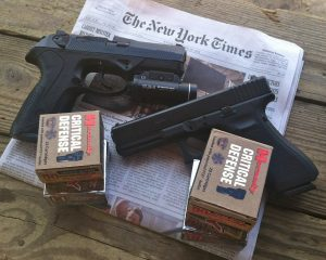 Hornady Critical Defense Ammo shoots the new york times