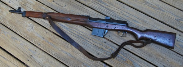 This Hakim Rifle was only surrendered once!
