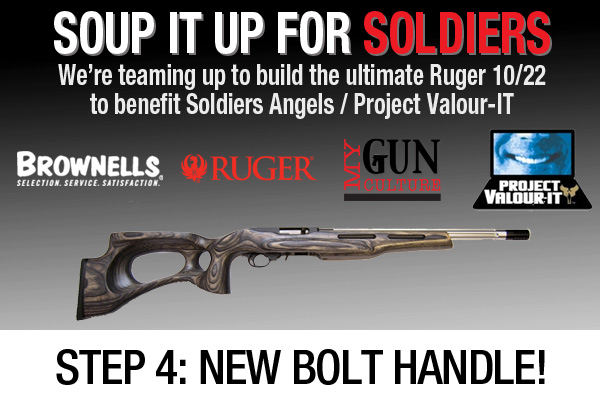 Customize Ruger 10/22 for Soup it up for Soldiers