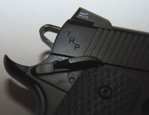 Springfield Armory 1911 TRP Armory Kote ambidextrous safety