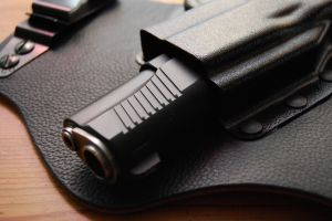 Springfield Armory TRP 1911 in Galco King Tuk Holster
