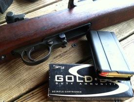 We tested the Speer Gold Dot .30 Carbine load in a 1945 vintage National Postal Meter M1 Carbine