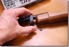 Slide off the Ruger 10/22 barrel band