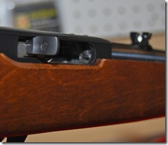 Make sure the Ruger 10/22 chamber is empty
