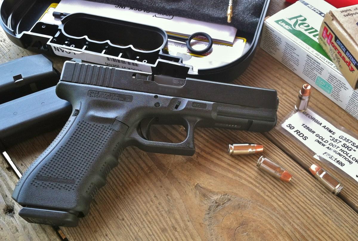 Gun Review: Glock 31 Gen 4 .357 Sig - Glock 357 Sauce Anyone?