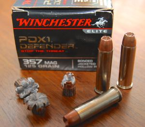 Winchester Elite PDX1 Defender 357 Magnum Ammunition