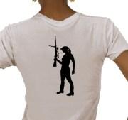 Sniper Girl Gun shirt