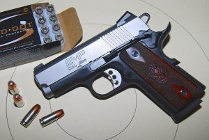 Springfield Armory EMP 9mm Enhanced Micro Pistol gold dot ammo