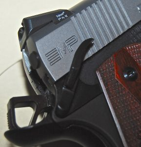 Springfield Armory EMP 9mm ambidextrous safety