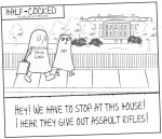 Half-Cocked: Fast & Furious Trick or Treating at The White House