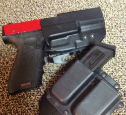 Our test SIRT fit all of our Glock holsters and magazine carriers