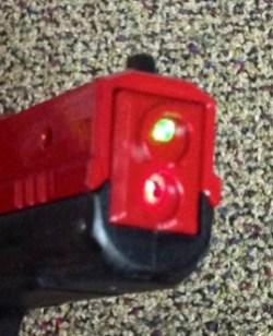 SIRT Training Pistol lasers