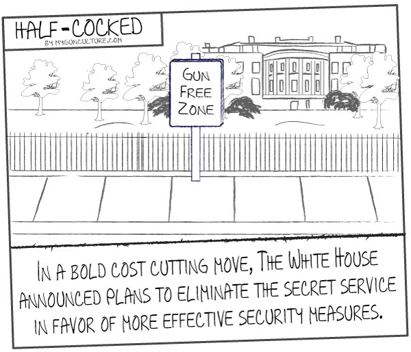 White House enhances security with gun free zone