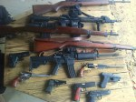 Lots of guns - rifles, pistols, ar15