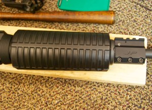 AR-15 JP Gas Block Installation completed