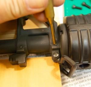 AR-15 JP Gas Block Installation remove pins