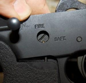 Blackhawk! AR-15 Offset Selector installation detent pin