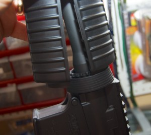 Blackhawk! AR-15 Quad Rail Forend delta ring (1)