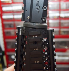 Blackhawk! AR-15 Quad Rail Forend install bottom half