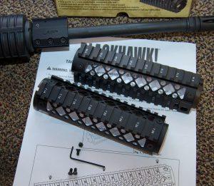Blackhawk! AR-15 Quad Rail Forend package contents