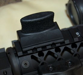 Blackhawk Rail Mount Thumb Rest installation