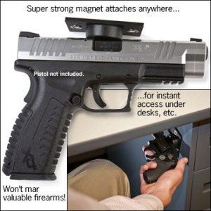 NRA Store Rapid Access Gun Magnet