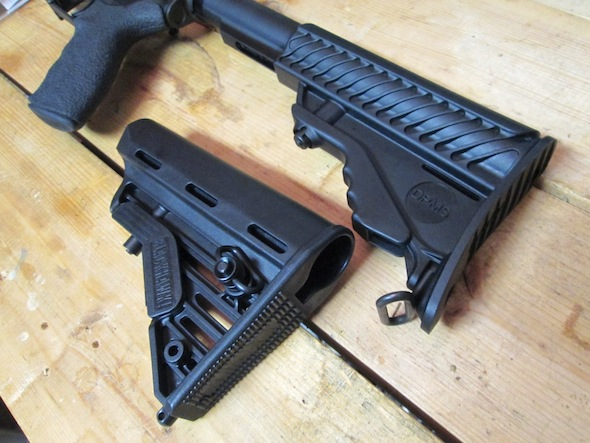 The Blackhawk! Adjustable Carbine Stock offers some nice upgrades to the standard configuration.