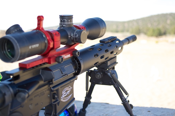 Lot's of really sweet rifles were on hand at Media Range Day.