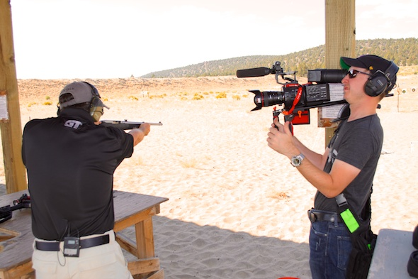 Will you see Ryan Gresham working the MGM spinner target on a future episode of GunTalk Television? I guess we'll see.