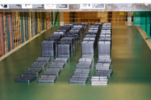 Blackhawk! is making primer trays for ammo component manufacturers 24x7. Here's some fresh out of the molding machine.