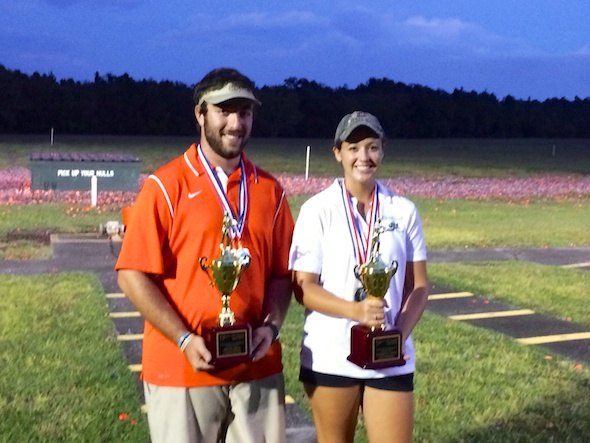 The high overall individual shooters from University of Florida and host school Jacksonville University.