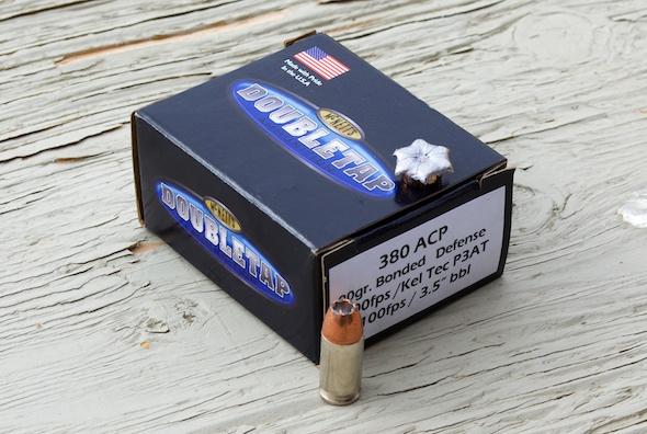 The 90 grain Bonded Defense .380 ACP bullet performed as advertised.