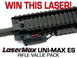 Win this LaserMax UNI-MAX ES Rifle Value Pack laser