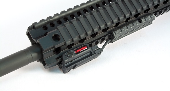 The LaserMax Uni-Max ES offers a very low profile option for your AR-15. Mount it on the top, side or bottom.