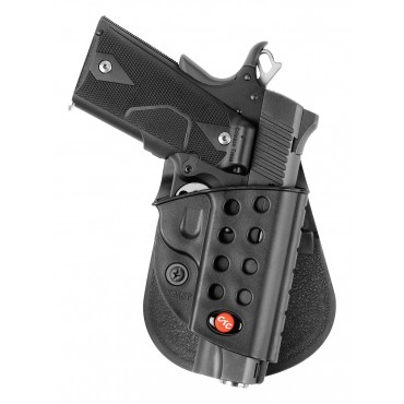 Win this Crimson Trace Edition Fobus Paddle Holster!