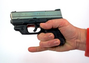 Just because a gun does not have room for all of your fingers, that doesn't mean the fit is wrong.
